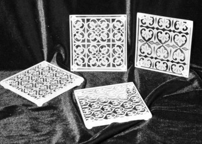 etched glass tiles