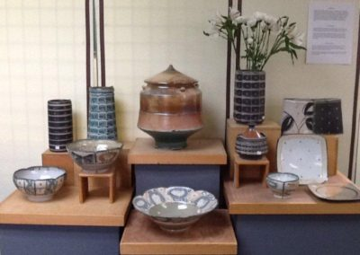 pottery  display