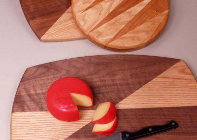 cutting boards in American hardwoods